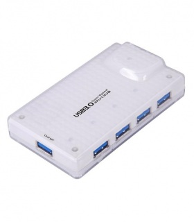 هاب 4 پورت USB 3.0 با آداپتور