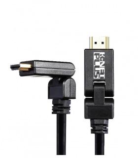 کابل HDMI کی نت پلاس 90 درجه