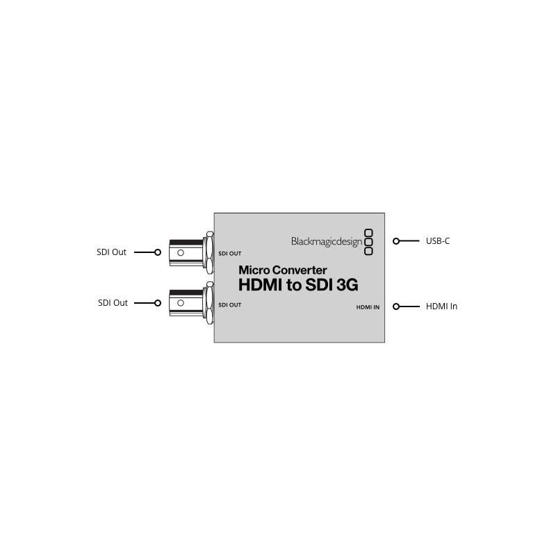 تبدیل HDMI به SDI بلک مجیک