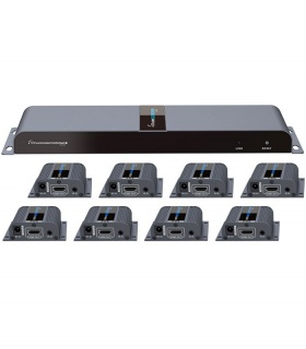 اسپلیتر HDMI لنکنگ Lenkeng LKV718Pro 1X8
