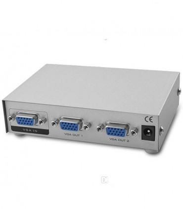 اسپلیتر 2 پورت VGA وی نت Vnet VGA Splitter 1-2