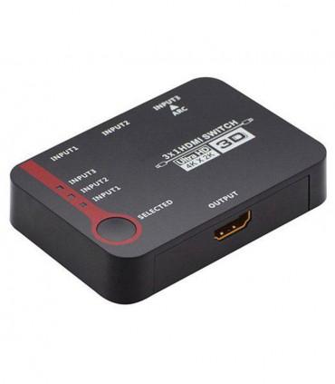 سوییچ 3 به 1 HDMI لایمستون LS-HS0301