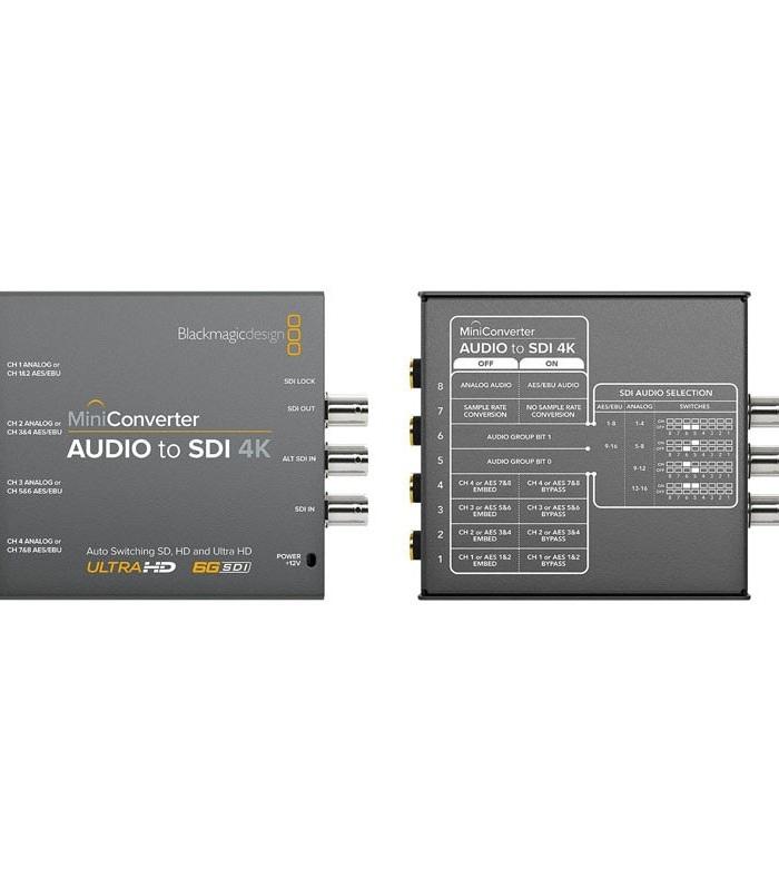 مینی کانورتر بلک مجیک Audio to SDI 4K