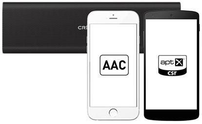 کدک aptX و AAC