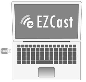 کارت شبکه بی سیم USB ایزی کست EZCast 5200
