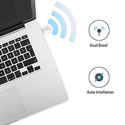دانگل وای فای دو باند 5G ایزی کست EZCast