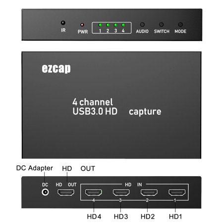 ورودی HDMI کارت کپچر