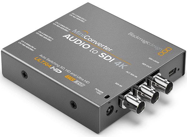 دستگاه تبدیل صدا به SDI بلک مجیک