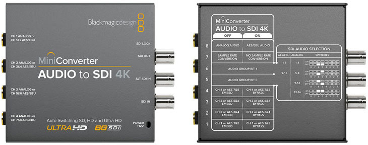 تبدیل بلک مجیک Audio to SDI 4K