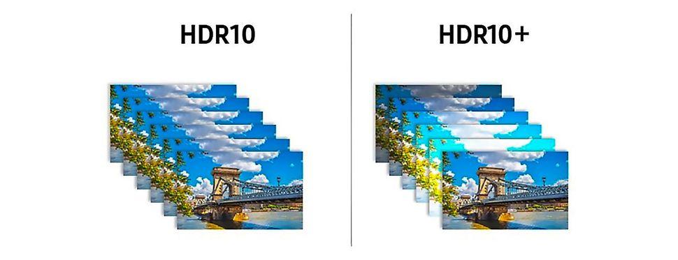 مقایسه HDR10 و +HDR10